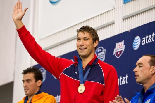 Matt Grevers After Breaking American Backstroke Record